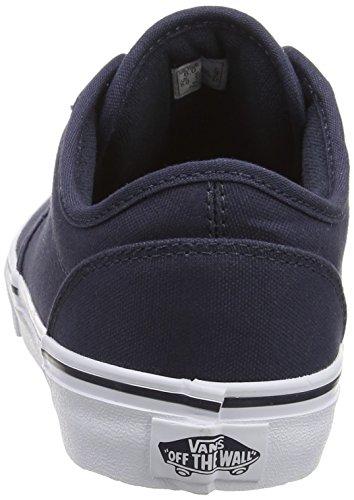 Vans Atwood Unisex-Kinder Sneakers Blau ((Canvas)Nvy/Wht 4K1)