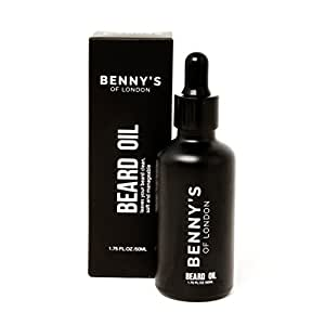 BEARD OIL - From Benny's of London - Keeping Beards HEALTHY and SOFT - warming SANDLEWOOD SCENT perfect for BEARDS all shapes & sizes - ALL NATURAL INGREDIENTS keeping that beard looking good