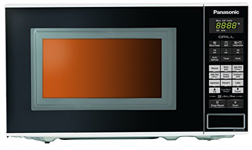 Panasonic NN-GT221W Epoxy 20-Litre Grill Microwave Oven (White)