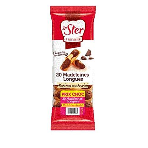le ster Madeleines longues au chocolat - ( Prix Unitaire ) - Envoi Rapide Et Soignée