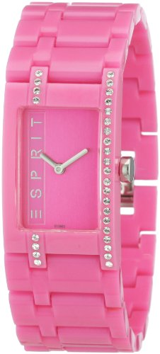 Esprit Damen-Armbanduhr houston funky star pink Analog Quarz A.ES103562002