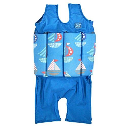 Short John Float Anzug, Segel, S, SJSSP1, 1-2 Jahre (Jungen-float-anzug)