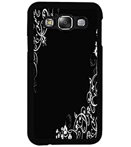 ColourCraft Lovely Pattern Design Back Case Cover for SAMSUNG GALAXY E5