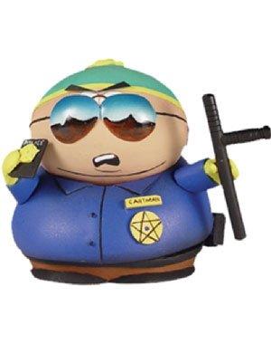 South Park Series 3 Figure Motorcycle Cop Cartman