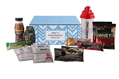 Amazon Sports Nutrition Sample Box (£10 credit on selected Sports Nutrition and Slimming items with purchase)