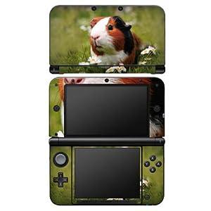 DeinDesign Skin kompatibel mit Nintendo 3 DS XL Aufkleber Sticker Folie Meerschwein Meerschweinchen Tiere
