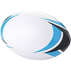 BULLET Stadium - Ballon de rugby (Taille unique) (Blanc/Bleu)