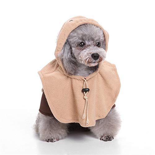 Hut Katze Im Kostüm Tutu - BUHUW Halloween Cosplay KostüM Halloween-Haustier-Kleidung Haustier-Weihnachtsalter Mann-Hund Kleidet KüRbis-Transformator-Zauberer