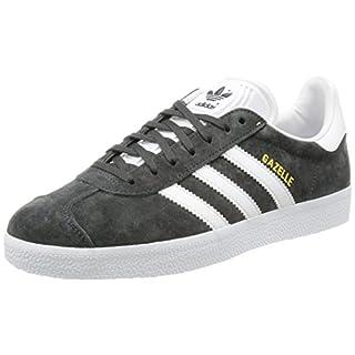 adidas Men's Gazelle Derbys, (Solid Grey/White/Gold Metallic), 10 UK 44 2/3 EU