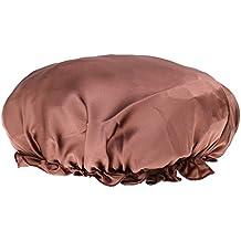 Générique Femme Bonnet de Nuit Charlotte en 100% Soie Chapeau de Sommeil  Bonnet Nuit Cheveux 50f4041197e