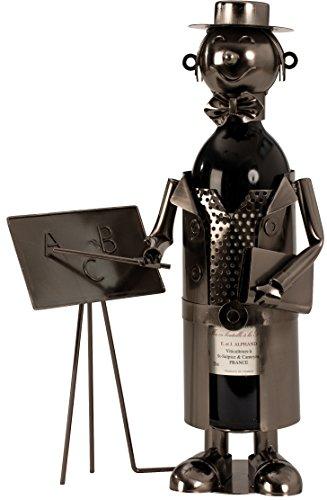 Flaschenhalter Lehrer Weinhalter Metall Flaschenständer