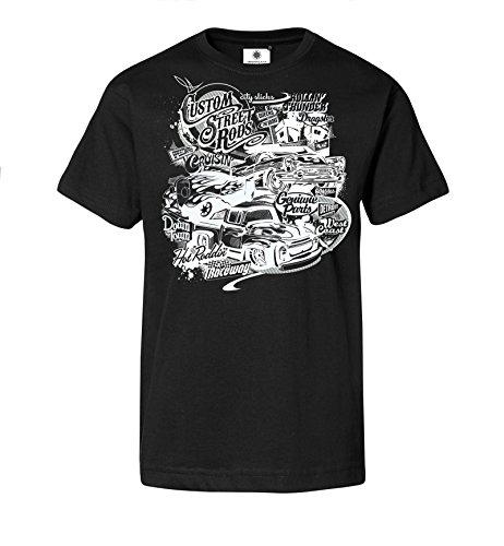 bedrucktes-herren-t-shirt-mit-motiv-custom-street-rods-4xl-schwarz