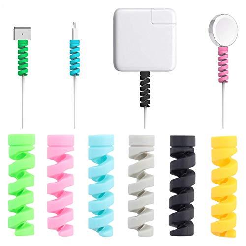 Telefon Protector (Kabel Schutz, 16 Stück iPhone Android Kabel Schutzfolie, Datenleitung Protector Telefon Ladegerät Kabel Saver, Für USB Kopfhörer MacBook, Zufällige Farbe)