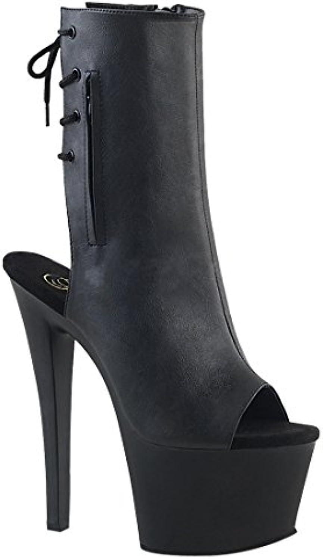 Pleaser SKY-1018 Damen Plateau Stiefelette  2018 Letztes Modell  Mode Schuhe Billig Online-Verkauf