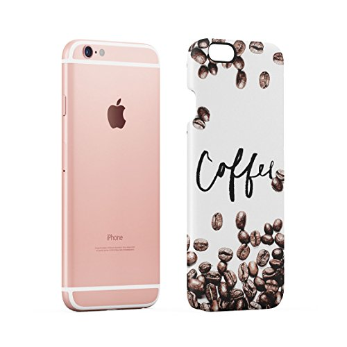 Coffee Is My Drug Dünne Rückschale aus Hartplastik für iPhone 6 Plus & iPhone 6s Plus Handy Hülle Schutzhülle Slim Fit Case cover Coffee Beans