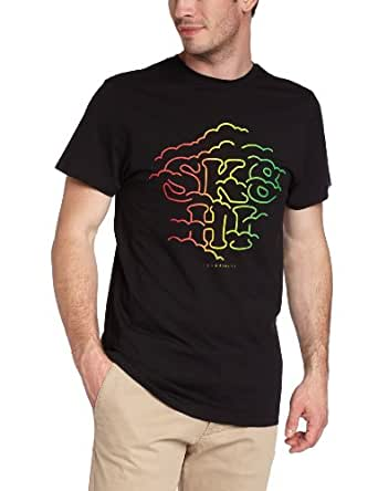 Vans Men's T-Shirt  - Black - Noir (Black) - Small (Brand size: S)