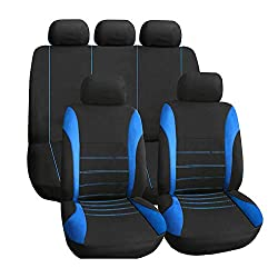 Walking Tiger Auto Sitzbezug Set Polyester 9 Stück Auto Zubehör Automotive Stuhl Fall Protector