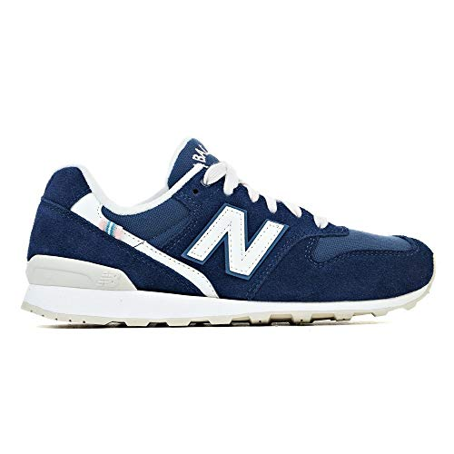 New Balance Suede 996, Sneakers Basses Femme, Bleu (Navy Ya), 38 EU