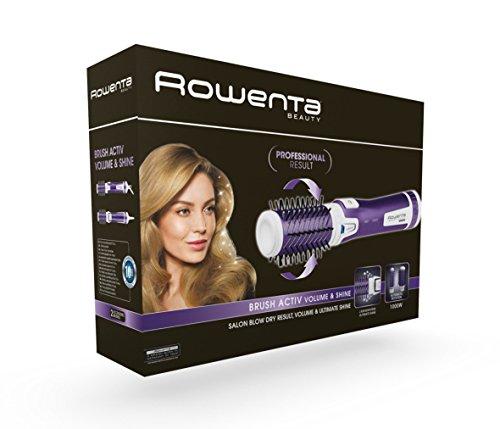 Rowenta CF9530 Rotierende Warmluftbürste Brush Activ Volume & Shine, purple - 5