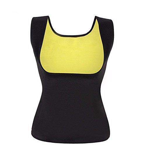 Fairyland Black Color New and Hot sale Neoprene Sweat Body Shappers Vest Waist Trainer Slimming Vest