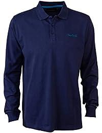 Pierre Cardin Mens New Season Long Sleeve Classic Fit Premium Polo T Shirt