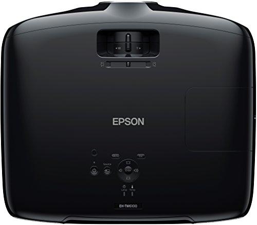 Bild 5: Epson EH-TW6100 3D Heimkino 3LCD-Projektor (Full HD 1080p, 2.300 Lumen Weiß & Farbhelligkeit, 40.000:1 Kontrast, 2x HDMI (1x MHL), inkl. 1x 3D Brille) schwarz