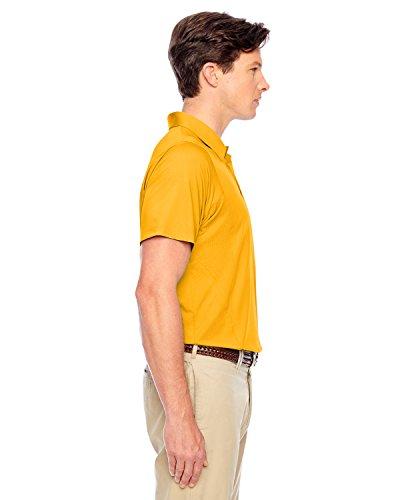 Team 365TT20Herren Ladegerät Performance Polo Shirt SPORT ATH GOLD