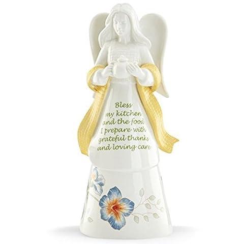 Lenox 862325 Butterfly Meadow Bless My Kit Angel Bell by Lenox