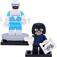 LEGO 71024 Disney 2 Edna Mode & Frozone ( The Incredibles ) Minifigures as pictured