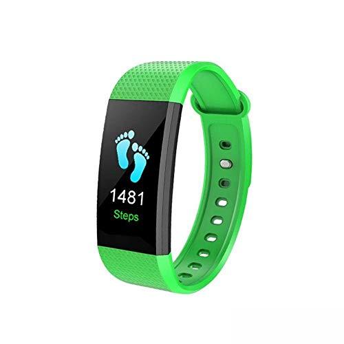 Ambiguity Fitness-Armband,Smart Wristbands IP68 wasserdicht Armband Blutdruck Handgelenk Schrittzähler Aktivität Bluetooth Herzfrequenz Monitor rufen erinnern Äh
