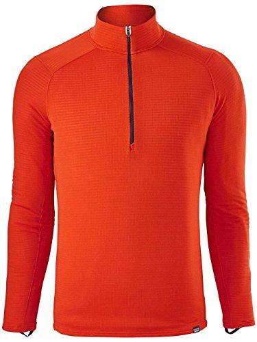 Patagonia Capilene Thermal Weight Zip Neck Shirt Men - Thermoshirt paintbrush red