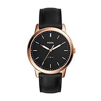 Fossil Analog Black Dial Men's Watch-FS5376