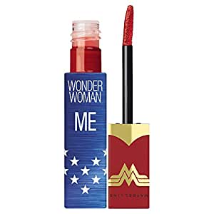 Maybelline New York Collezione Wonder Woman Vivid Matte Liquid Rossetto Liquido Edizione Limitata, Me - 35 Rebel Red