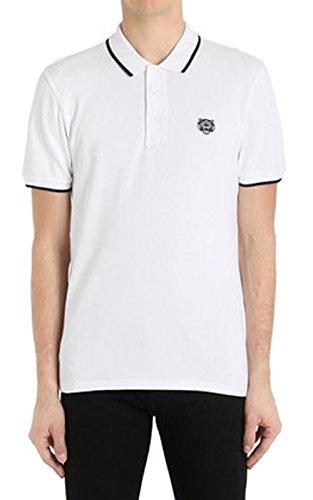 Kenzo Herren Poloshirt Regular Fit Kurzarm weiss (10) XL