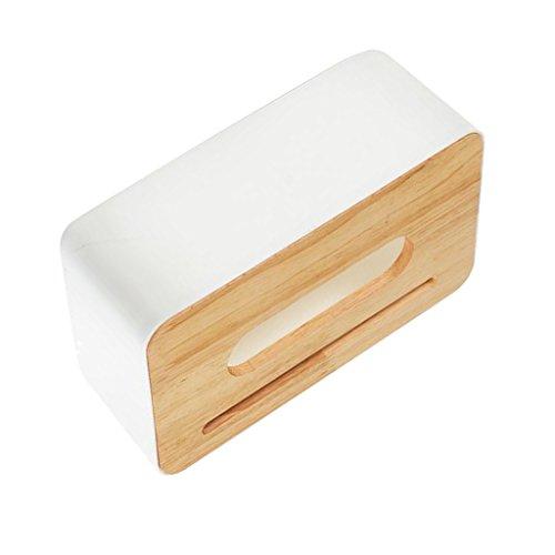 Baoblaze Rechteckig Tissue Box Halter, Büro Küche Tissue Box Tissue Case Tissue Halter - Platz 3