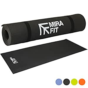 Mirafit Tapis d'Exercice 6mm - Choix de Couleurs