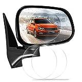 Autospiegelfolie - 1 STÜCK Auto-Rückansicht Wasserdichter, regensicherer und beschlagfreier Spiegelfolie, Spiegelschutzfolie, Geeignet für alle Automobil- und Fahrzeugmodelle. (Rund und Oval)
