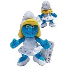 Pitufina 22cm Muñeco Peluche Azul Los Pitufos TV Smurfs Super Suave Soft Gran Calidad