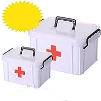 Gabinete de Medicina Familiar Grande y súper Grande Caja de Salud médica de Emergencia médica de múltiples Capas Recibiendo Maleta de plástico para niños