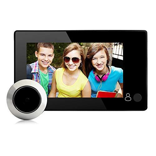 Danmini Wireless Video Türklingel Türspion für Tür mit Kamera, 4,3