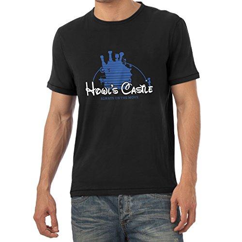 Ins Chihiros Reise Zauberland Kostüm Chihiro (TEXLAB - Howl's Castle - Herren T-Shirt, Größe XL,)