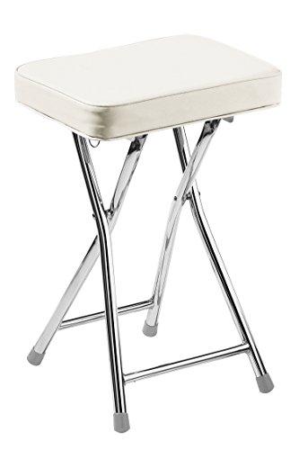 premier-housewares-rectangle-shaped-folding-stool-with-chrome-frame-49-x-35-x-24-cm-cream