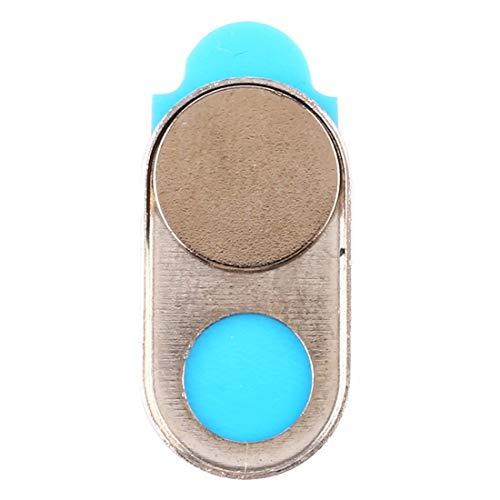 webcam cover, cubierta de cámara universal diseño imán ultra-delgada cubierta de cámara web, de escritorio, portátil, tablet, móviles (color : gold)