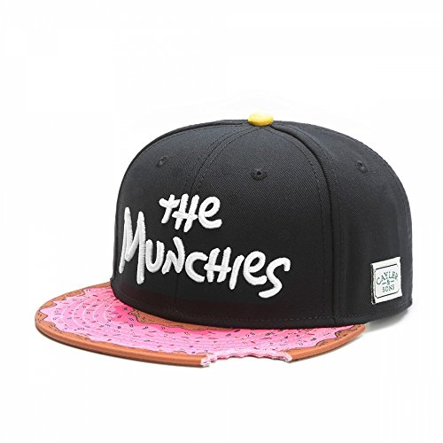 Cayler&Sons Cap Munchies Black Pink Farbe: Black