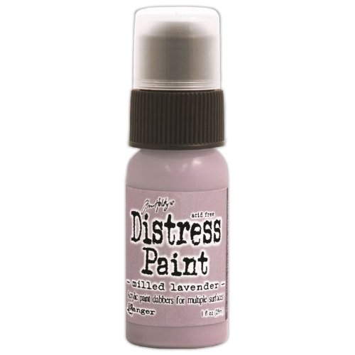 Ranger Distress Paint Dabber 1oz-Milled Lavendel, andere, Mehrfarbig