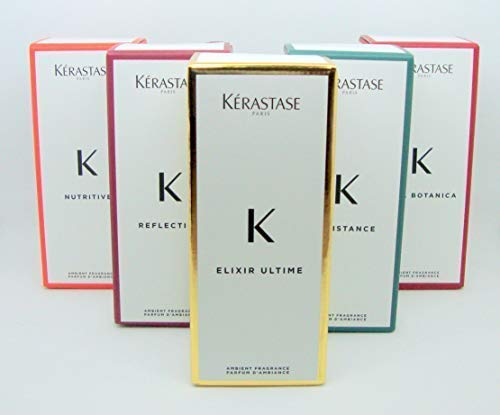 Kerastase - 5 ambientadores de 200 ml Edición 2019 con varillas de fibra perfumada delicada