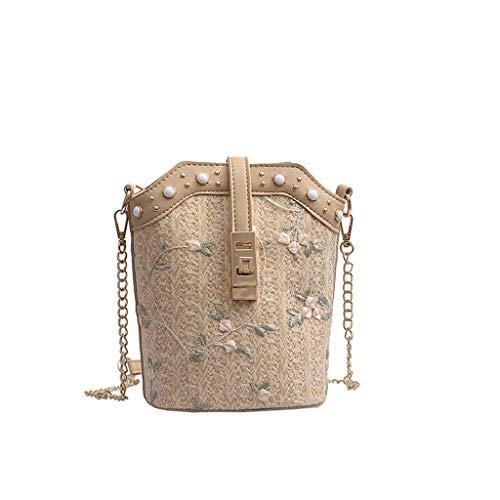 Mitlfuny handbemalte Ledertasche, Schultertasche, Geschenk, Handgefertigte Tasche,Frauen-Strand-Spitze Embroid (Marilyn Monroe Hund Kostüme)