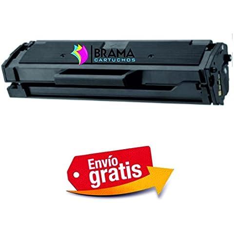 Bramacartuchos - Tóner compatible NON OEM SAMSUNG MLT-D101S, Samsung ML 2160, ML 2165, ML 2165w, ML 2168, ML 2168W, SCX 3400, SCX 3405w, SCX 3405, SCX 3405fw, SCX 3505 W, SF760p, SF760 P (1500 copias)