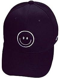 ZARU Cara de la sonrisa unisex bordado Snapback de Hip Hop Gorra de béisbol  del sombrero 342694e51df