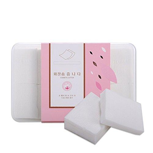 Cotton Pads Weiche dünne kosmetische Wattepads hohe Qualität Nagel Wischen Gesichts Make-up Entferner Reinigung Baumwolle (appr.800pcs) BAOLIJIN
